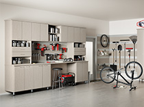 California Closets - Garage Storage Cabinets