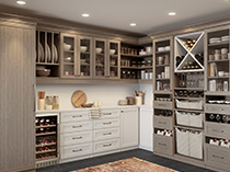 California Closets - Pantry Storage