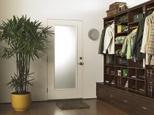California Closets Entry Room Storage Solution