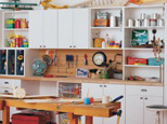 California Closets Craft Workbench Classic White